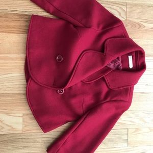 Red coat crop